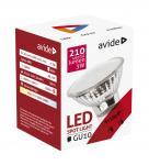 5 x AVIDE Premium LED Spot Glas GU10 3 Watt warmweiß 3000K 260 Lumen