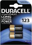 Duracell Ultra Lithium Photo 123 DL123A CR123A 2er Blister