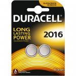 Knopfzelle DURACELL Lithium DL2016 CR2016 2er Blister