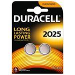 Knopfzelle DURACELL Lithium DL2025 CR2025 2er Blister
