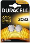 Knopfzelle DURACELL Lithium DL2032 CR2032 2er Blister