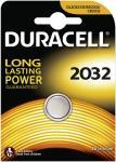 Knopfzelle DURACELL Lithium DL2032 CR2032 1er Blister