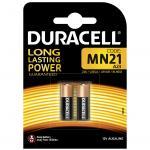Duracell Hochvolt Batterie 12V MN21 A23 LR23A G23A V23PX V23GA 2er Blister