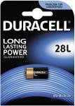 Duracell Lithium Photo PX28L L544 2CRI/3N CR11108 1er Blister