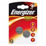 Knopfzelle ENERGIZER Lithium CR2025 DL2025 2er Blister