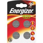 Knopfzelle ENERGIZER Lithium CR2032 DL2032 4er Blister