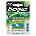 Akku ENERGIZER Extreme HR03 800 mAh AAA Micro 4er Blister