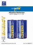 Heitech Alkaline Batterien LR14 MN1400 Baby/C 2er Blister