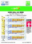 "Akku HEITECH ""Ready to Use"" HR6 2000 mAh AA Mignon 4er Blister"