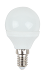 5 x V-TAC LED Mini Globe P45 VT-1819/SKU-4123 E14 4 Watt warmweiß 2700K 320 Lumen