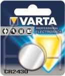 Knopfzelle VARTA Lithium 6430 CR2430 DL2430 1er Blister