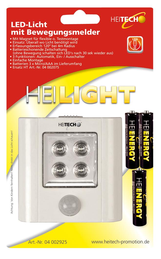 OHaWe Onlineshop   HEITECH LED Nachtlicht Schranklicht